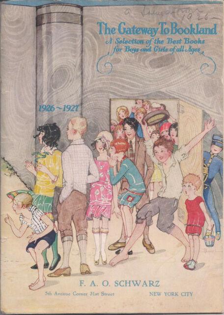 F.A.O. SCHWARZ Vintage Catalogue