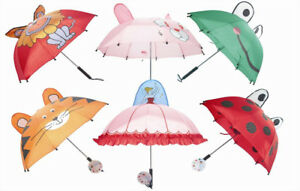 034-First-Steps-034-Childrens-Compact-Folding-Umbrellas-In-Fun-amp-Playful-Designs