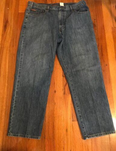 Bauer Eddie Premium Jeans Denim 40x30 Homme Taille Blue dvw7xF