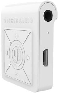 ad912763d96 Image is loading Wicked-Audio-Reach-Bluetooth-Receiver-Earbuds-Combo-White