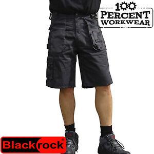 Tradesman Workman Qualité Résistante Heavy Duty Homme Cargo Combat Work Shorts-afficher Le Titre D'origine Chaud Et Coupe-Vent