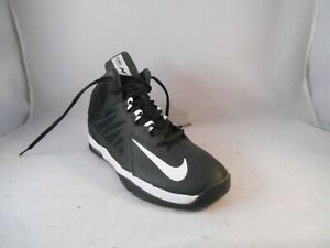 Details about Nike Air Max Stutter Step 2 Black Basketball Shoes Youth Size 7 40 Euro