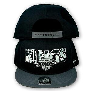 Original 47 Brand Los Angeles Kings Snapback Cap NHL Schwarz/Camo