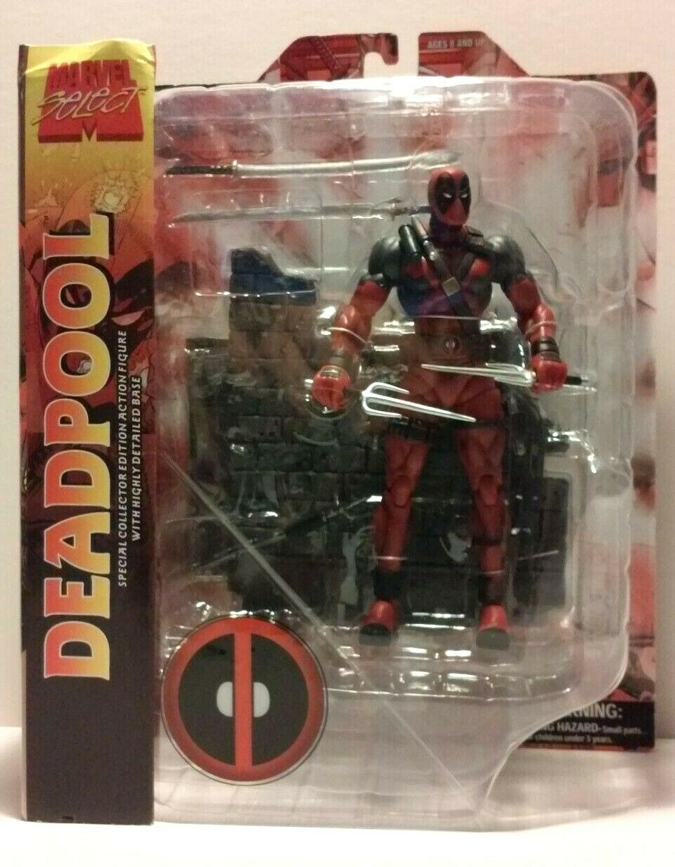 Marvel Select Deadpool Diamond Select MIP MIB collector's edition 7