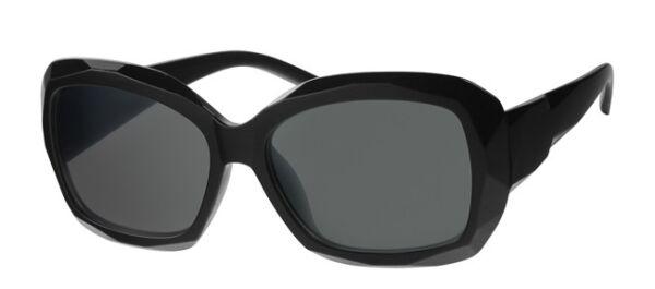 100% Vero Onorevoli Oversize Telaio Nero Occhiali Da Sole Grey Lens Celebrity Cool Stile Retrò Sg2
