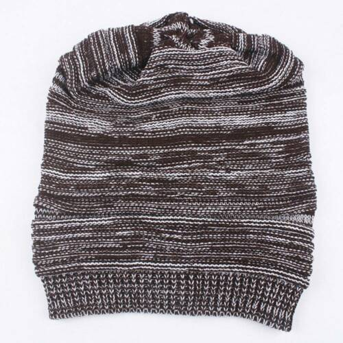1pc Fashion Knitted Hat Winter Hats For Men Bonnet Knitting Warm Beanie Caps