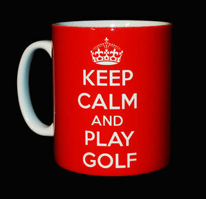 NEW-KEEP-CALM-AND-PLAY-GOLF-MUG-CUP-GIFT-PRESENT-GOLFER-GOLFING-SPORT-PLAYER