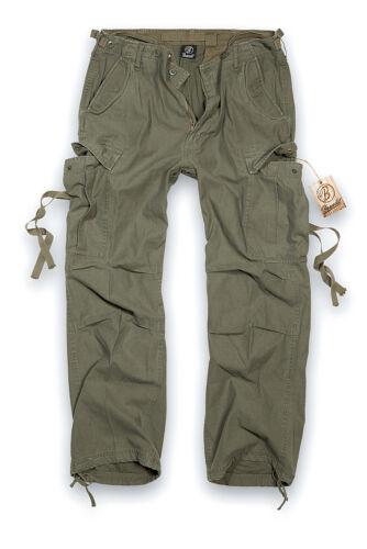 Brandit Vintage M65 Hose Cargo Army Militär Armee Bundeswehr Seitentaschen
