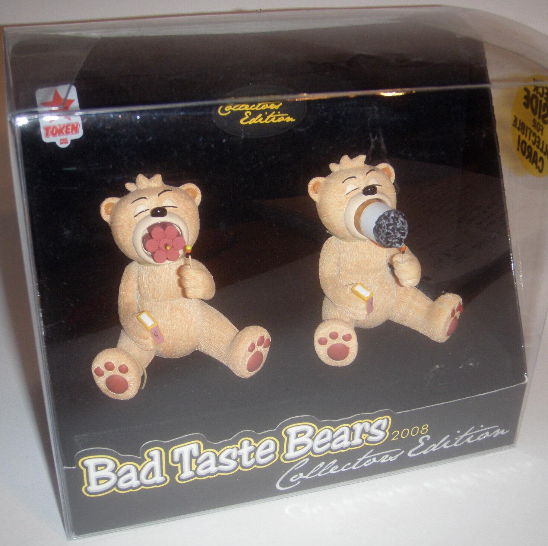 Bad Taste Bär Sammelobjekt harzfigur Napoleon 2008 Twin Set Smoking Dynamite    Neuer Stil