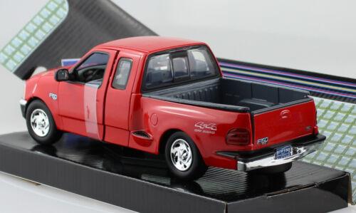 Ford f-150 XLT Flareside Supercab 2001 rojo 1:24 motor max maqueta de coche 73284