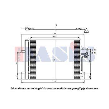 Kondensator Klimakühler Klimaanlage Ford Galaxy WA6 Modeno IV S-Max Trockner