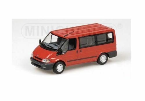 FORD TRANSIT TOURNEO VAN - 2001 - RED 400081210 Minichamps 1 43 New in a box