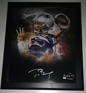 e47c9edacf1 Image is loading Tom-Brady-Signed-In-Focus-Framed-Autographed-Limited-