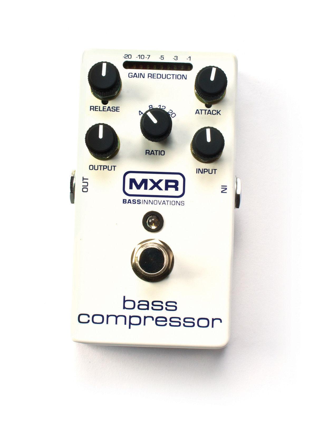 MXR M87 Bass Compressor Bass Guitar Effects Pedal