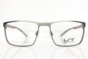 Lightec-7547L-GR060-Brille-Eyeglasses-Frame-Lunettes-Front-130