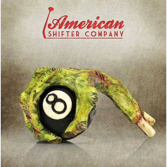 American shifter Grippy 8 Ball Zombie Hand Custom Shift Knob ASCSN00026
