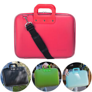 Bags Mouse Laptop Cases & Bags SumacLife Leather Laptop Shoulder Bag Briefcase For 15.6 Dell HP Lenovo