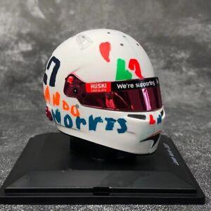 Neuf 1/5 Spark Casque Replica pour Mclaren F1 2020 GP British Lando Norris 5HF052