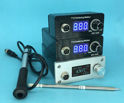 SFDER Metal Material Soldering Iron Stand with Sponge For T12 Soldering Station