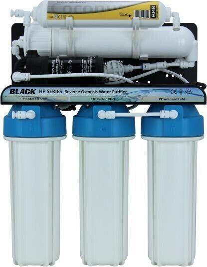 BMB HP-105 LX-Haute pression 5-Filtre de luxe sous évier RO Filtre à Eau Système