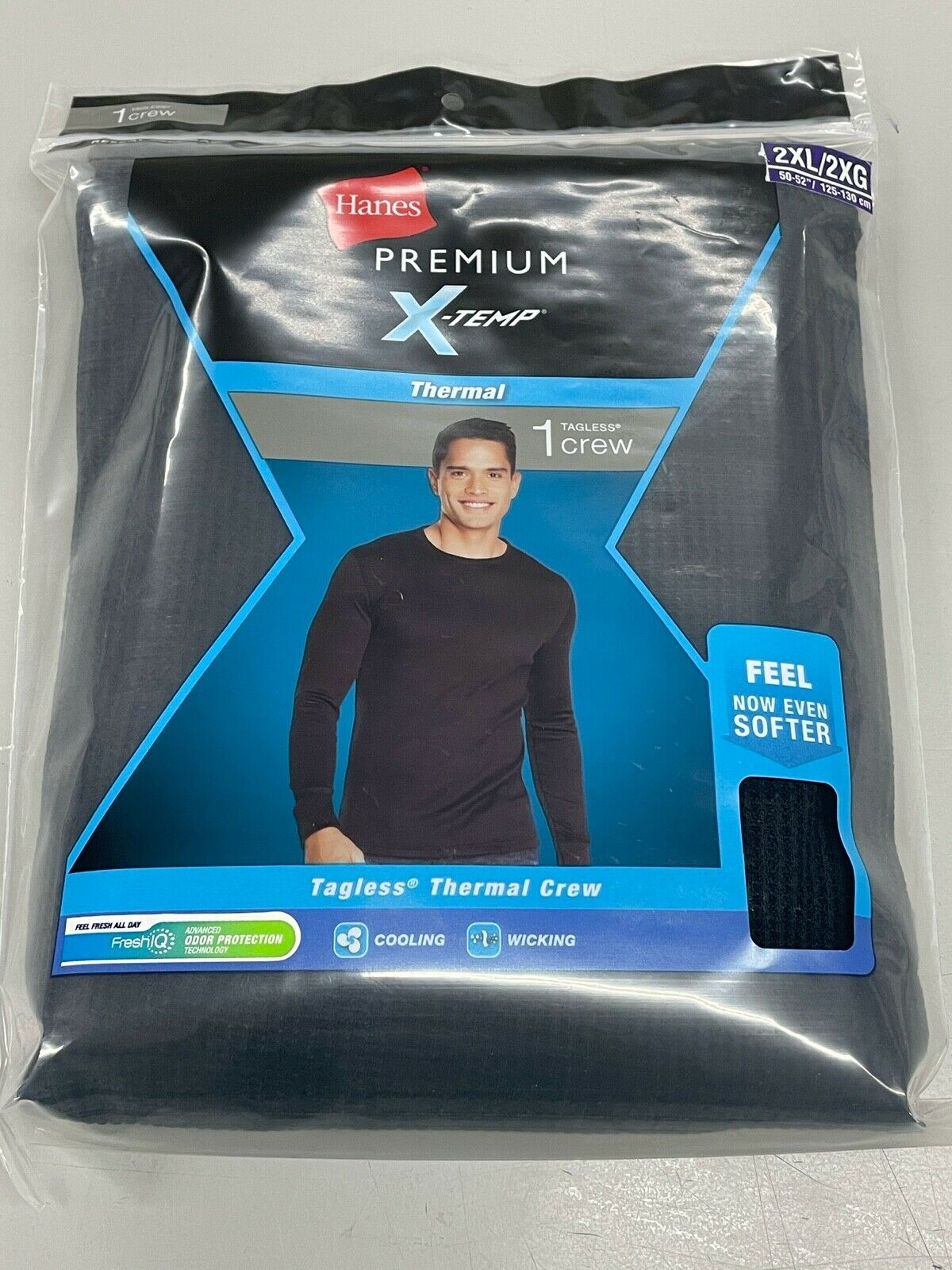 Hanes Ultimate X-Temp Tagless Thermal Pant Black