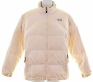 THE-North-Face-Ragazze-Giacca-Imbottita-15-16-ANNI-bianco-sporco-XL-POLIESTERE-EY20