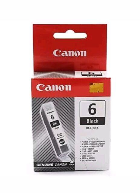 NEW! Canon Bci-6 Bk Black 4705A002