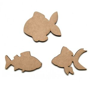Wooden-MDF-Fish-Shape-Craft-Embellishment-Decoration-Shapes-Plaques