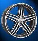 Wheelworld WH12 8 X 18 5 X 112 35 daytona grau matt poliert