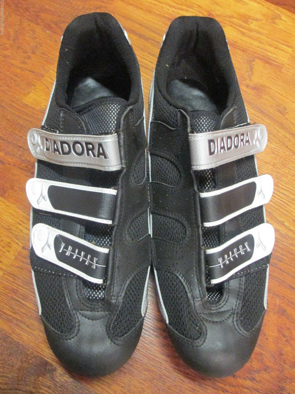 DIADORA TRIVEZ ROAD BIKE CYCLING SHOES 45