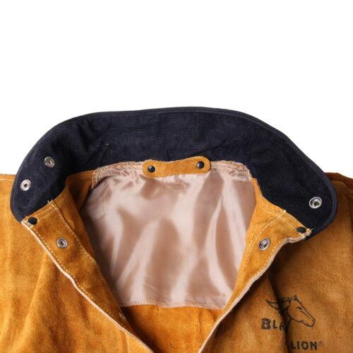 Revco Black Stallion Split Cowhide Leather Welding Jacket 2XL 30WC