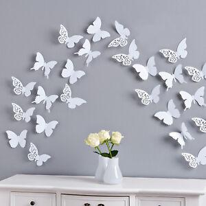 3 x  Magnete 3 Farben Neu Deko art kleine Leute Schmetterling OVP *