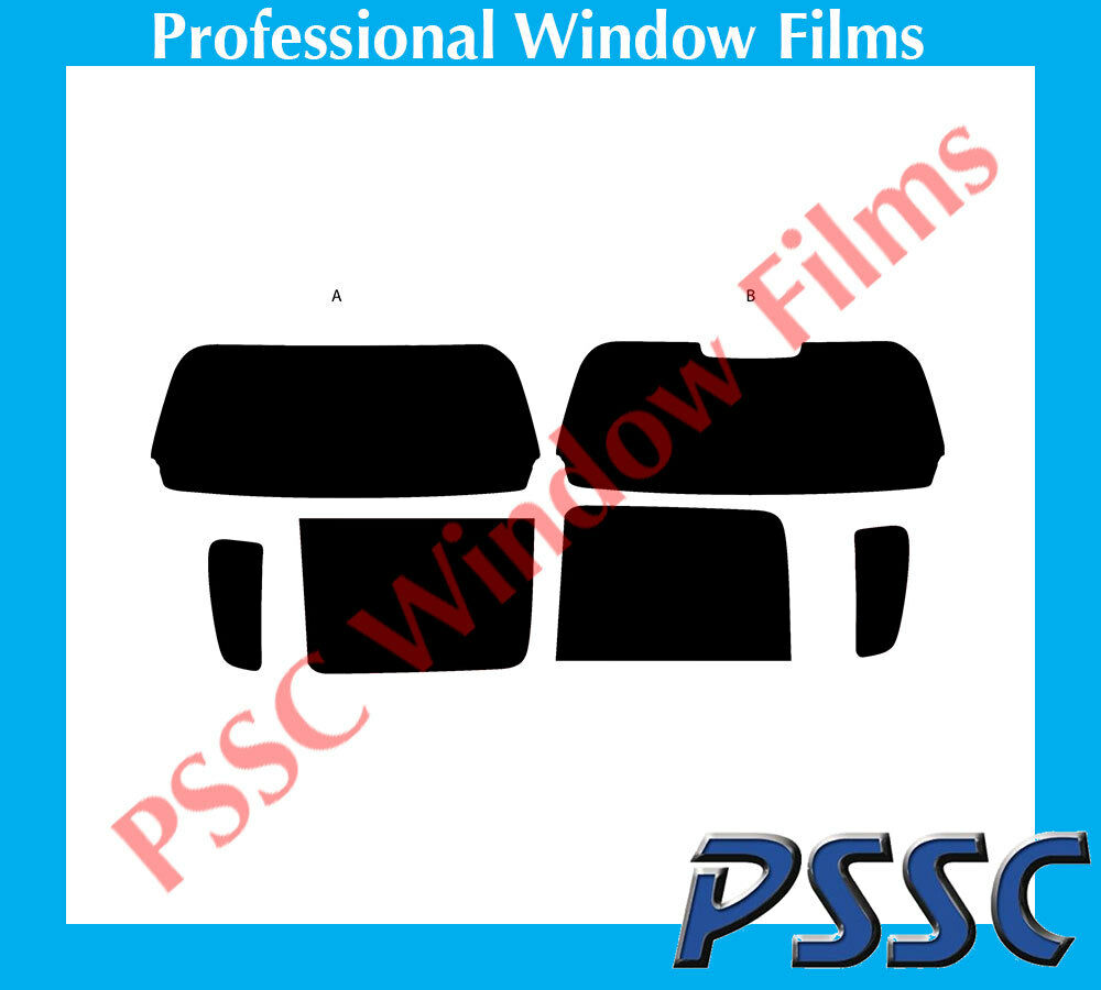 PSSC Pre Cut Rear Car Window Films - Vauxhall Agila MPV 2000 to 2008