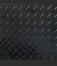 Black Aluminum Diamond Plate Sheet 1 Sheet 0025x48x120 Thickwide Long