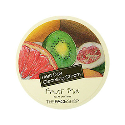 [THE FACE SHOP] Herb Day Cleansing Cream [Fruit Mix] 150ml / Bright skin