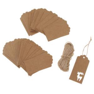 100pcs-Papier-Kraft-Bouteille-Etiquette-pour-Cadeau-de-Noel-Decor