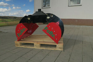 Einlegeschale Verladezange RHGS 016 Holzgreifer    Rotator .Rückewagen Forstkran