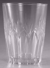 "STUART Crystal - CARDINAL Cut - Tumbler Glass / Glasses - 4"" (1st)"