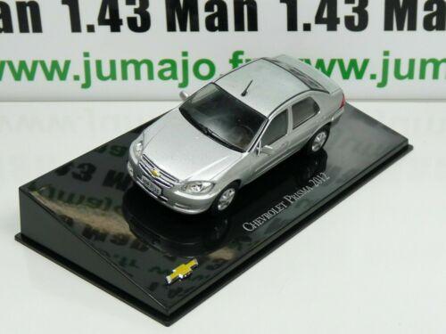 Prisma 2012 CVT11G voiture 1//43 IXO Salvat BRESIL CHEVROLET