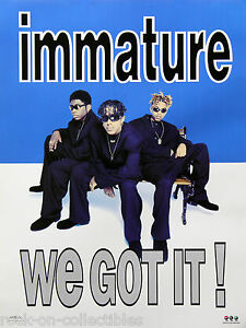 Image Is Loading Im Imx 1995 We Got It Promo Poster