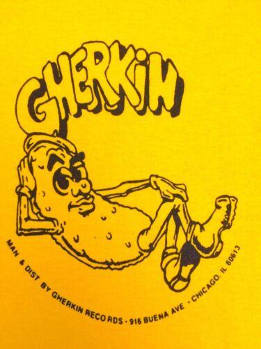 GHERKIN RECORDS TSHIRT MR FINGERS LARRY HEARD TERRY HUNTER ARMANDO MIKE DEARBORN