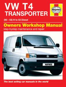 t4 haynes manual t4 transporter 90 03 diesel 000100032 ebay rh ebay co uk VW Transporter T5 VW Transporter T3