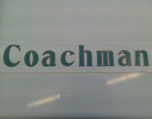 Coachman-caravan-large-green-transfer-decal-sticker-self-adhesive-JLB5