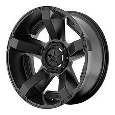18x9 BLACK wheels XD811 ROCKSTAR 2 2011-2017 CHEVY GMC 2500 3500 8x180 +0mm