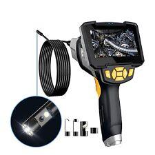 Dual Lens Industrial Endoscope 1080p Hd 45 Screen Borescope Inspection Camera