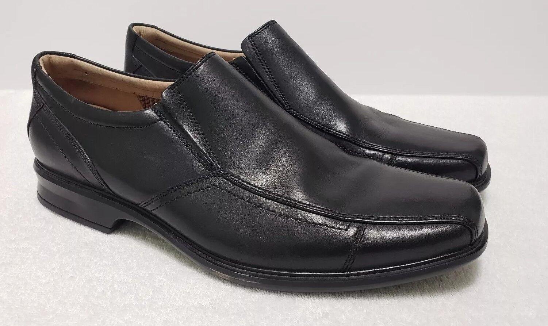 Clarks Verro Genuine 62115 Mens Black Slip-on Dress shoes 13M