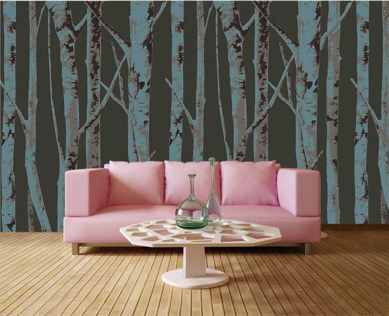 Abstract Orient Tree 3D Full Wall Mural Photo Wallpaper Printing Home Kids Decor
