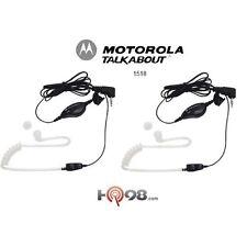 Motorola 1518 Talkabout Surveillance Headset Accs W/ Ppt Mic F/all Talkabout