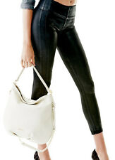 Nwt GUESS $128 Quatro G Hobo Handbag Purse Large Chain strap Off white
