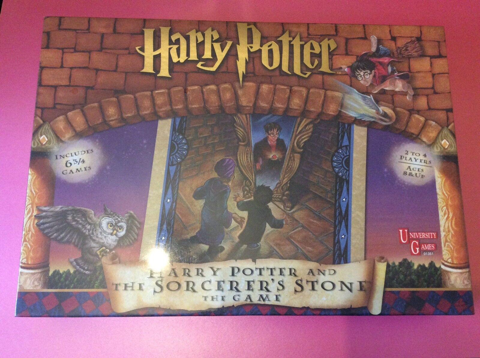 Harry potter zauberer   philosophen stein brettspiel - knappen brandneu und versiegelt